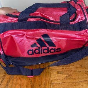 Adidas Pink & Navy Duffle Bag